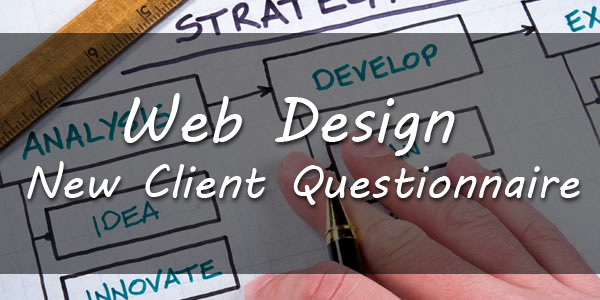 Web design Customer Questionnaire
