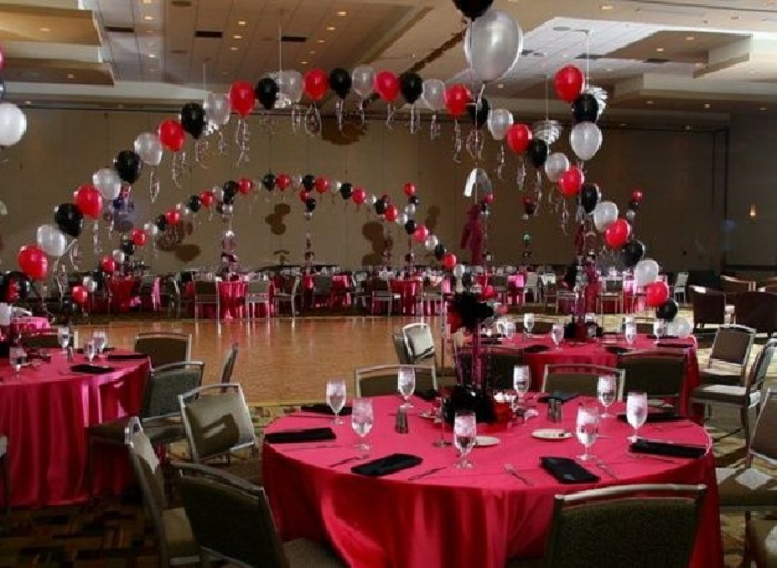 Decorate your wedding with balloons