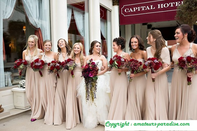 Wedding Dresses by Color Nude