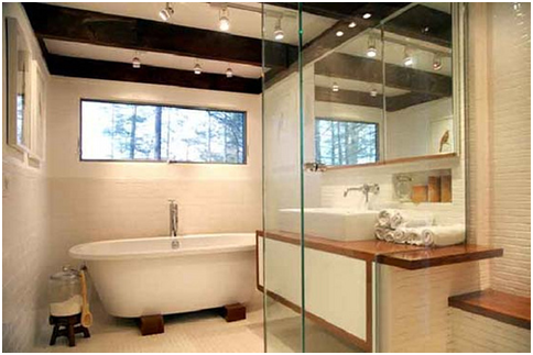 The increasing popularity of glass in the bathroom