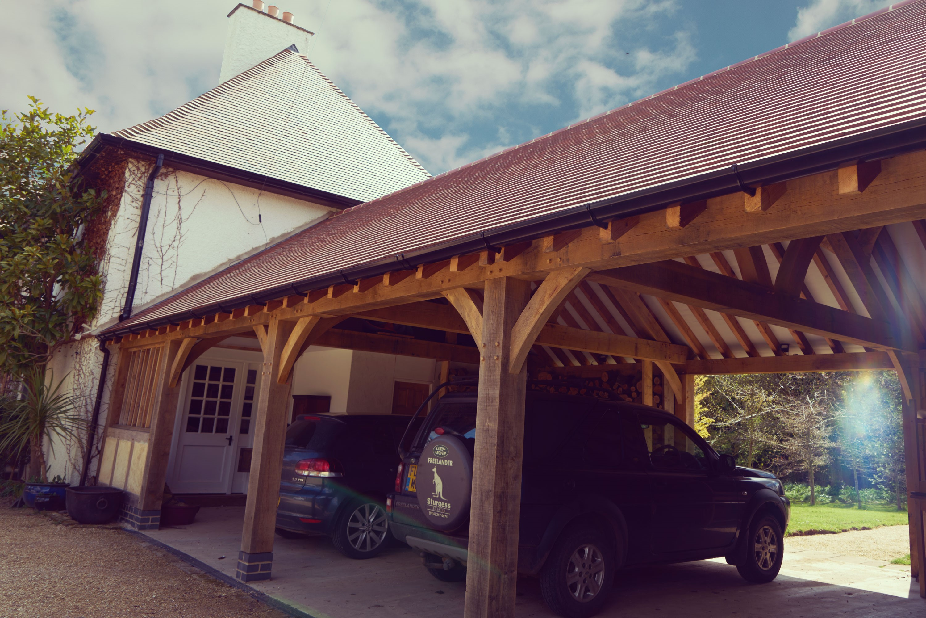 Options for storing your car when at home.