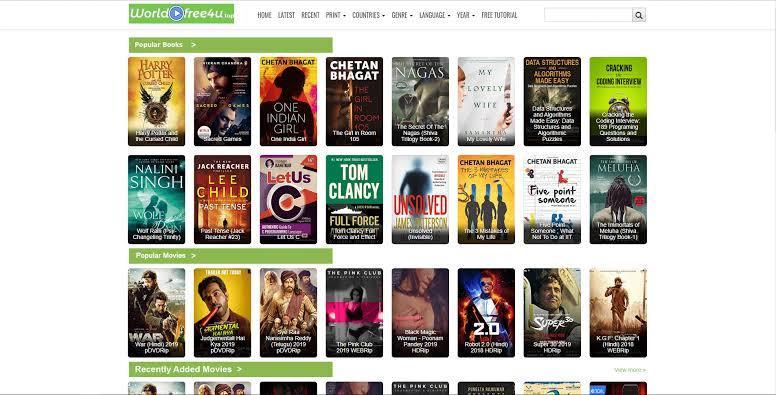 5 Best Alternatives of WorldFree4U to Watch Movies Online