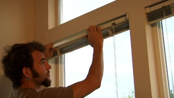 Installing Inside Mount Blinds