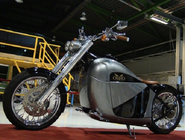Orphiro, A Luxury Electric Motorcycle With Classic Design