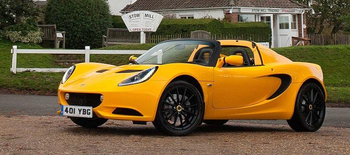 Lotus Elise Club Racer; Affordable Luxury