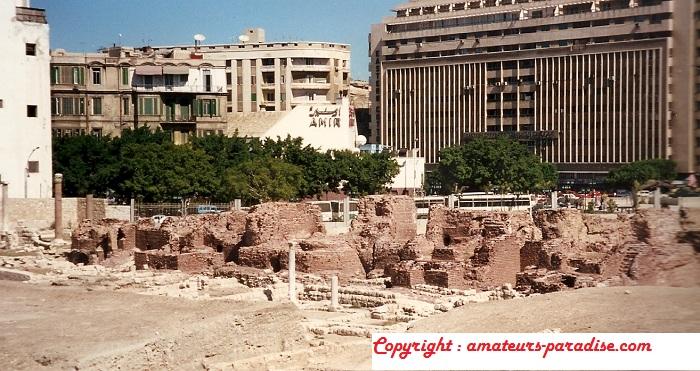 Catacombs of Kom ash-Shuqqafa, Alexandria (Egypt)