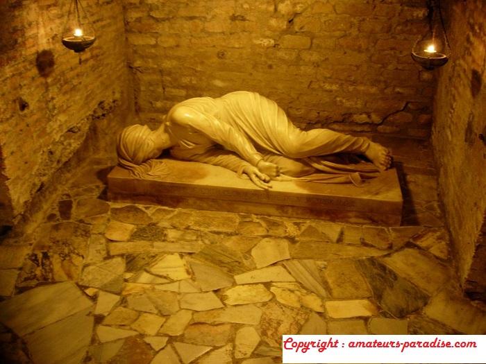 Catacombs of San Calixto, Rome (Italy)