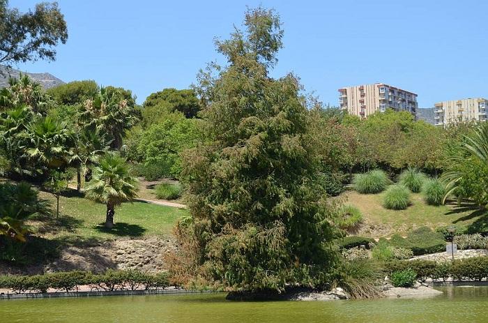 Park of the Paloma de Benalmádena Costa, Málaga