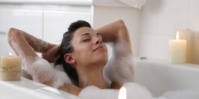 Paradise Effect Of Taking A Hot Bath