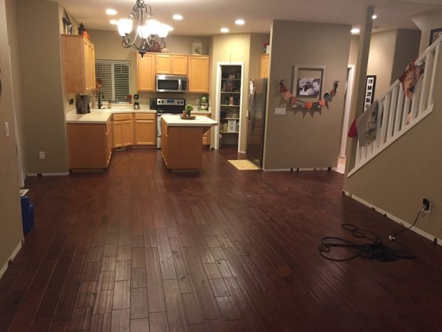 consider engineered wood floors