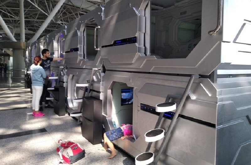 Capsule Hotel: How To Rest At The Airport Without Leaving The Transit Zone