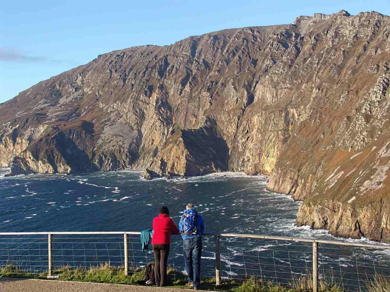 Visiting the Sliabh Liag Cliffs