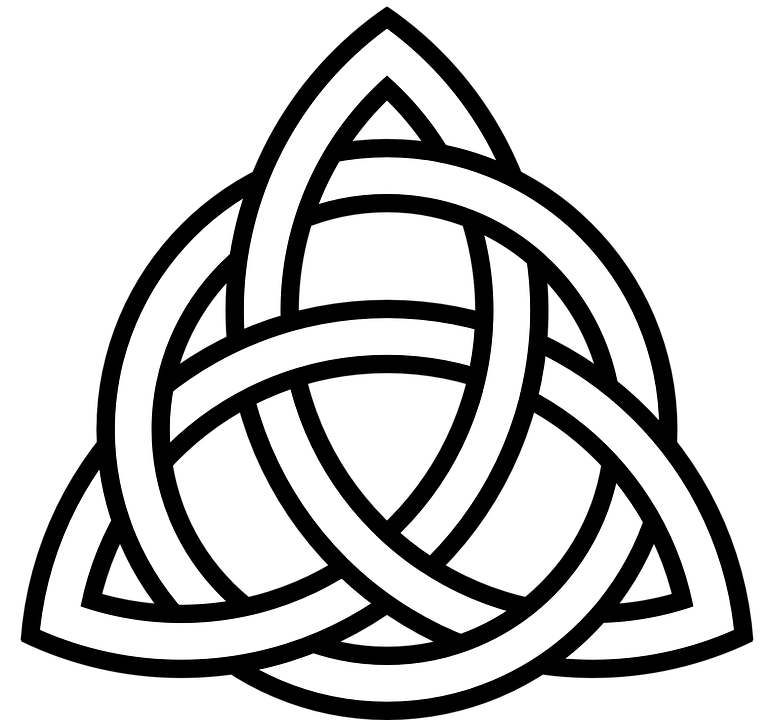 What does the Celtic knot symbolise?