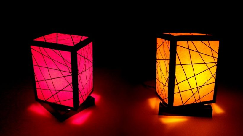 How to make a lampshade?